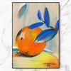 인테리어 액자 Orange Painting 메탈 A3