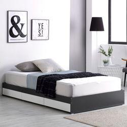 프레드 3단 수납형 침대 슈퍼싱글+독립 매트리스