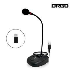 디알고 DRGO STM01 구즈넥 방송용 인강용 스탠드 마이크