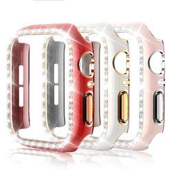 애플 아이폰 워치 스킨 42mm 실버 골드 디자인 케이스