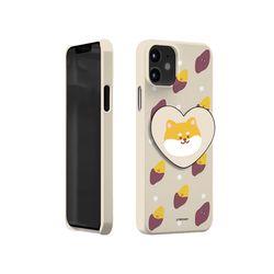 [T]겨울동물 하트 스마트톡 하드케이스.아이폰XR