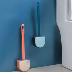 욕실 변기 청소솔 변기솔 클리닝 실리콘브러쉬 2개