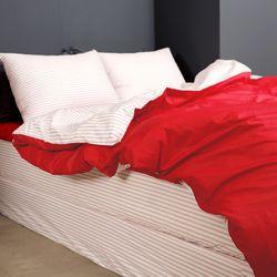 간절기 침대커버 스톡홀롬 스트라이프 매트리스커버(3color) Q