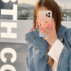 은창)몰캉몰캉 젤리 스마트톡 거치대 핸드폰 지지대