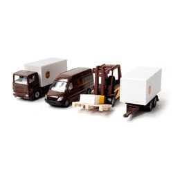 [시쿠]UPS 물류차량 세트