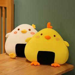 집순이선물 병아리 모찌쿠션 등쿠션 2종 45cm