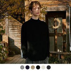 골지 니트 폴라 티셔츠 [컬러선택가능](NEWQPHGR73)