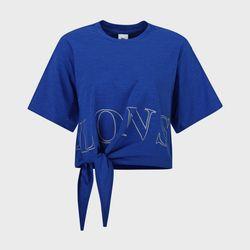 밑단 매듭 반팔 라운드 티셔츠 LLBTS709F(NEWXDOYF1O)