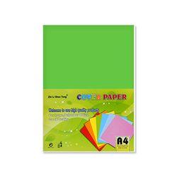 A4색상지8A 210x297mm opp포장 100장 초록(단품)