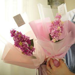 첫사랑 리라 라일락꽃다발 (메시지택포함) [3color]