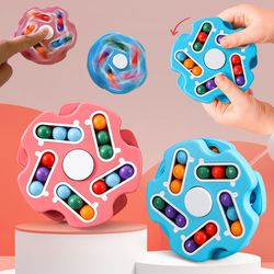 회전 매직빈 큐브 스피너 피젯 토이 퍼즐 놀이 장난감
