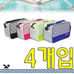 수영 배우는 우리 아이들을 위한 수영가방 X 4개입
