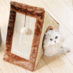 Hoopet 숨숨하우스 수직스크래쳐 고양이용품