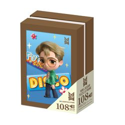 BTS 타이니탄 액자 퍼즐 108피스 지민 Tiny TAN