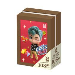 BTS 타이니탄 액자 퍼즐 108피스 RM Tiny TAN