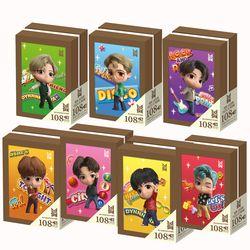 BTS 타이니탄 액자 퍼즐 108피스 전멤버 Tiny TAN