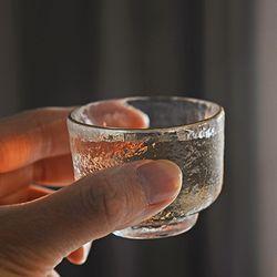 예쁜 유리 소주잔 4p세트 술잔 주기 유리 미니컵