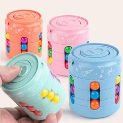 회전 매직빈 큐브 캔 스피너 피젯 토이 퍼즐 장난감