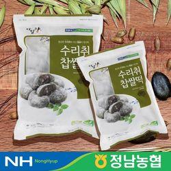 농협 찰떡 수리취 찹쌀떡 800g