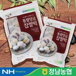 농협 찰떡 통팥앙금 찹쌀떡 800g