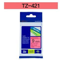 브라더 테이프카트리지 TZ421(9mm Red Black)