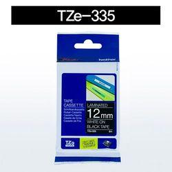 브라더 테이프카트리지(TZe-335 12mm 흑색 흰색문자)