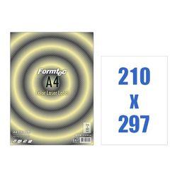 폼텍 레이저용라벨A4 CA-3130(20매 210x297mm)
