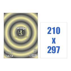 폼텍 레이저용라벨A4 CL-3130(100매 210x297mm)