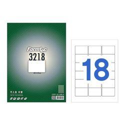 폼텍 라벨18칸100매 LS-3218(주소용 63.5x45mm)