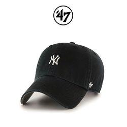47브랜드 볼캡 모자 NY양키스 블랙(BK)
