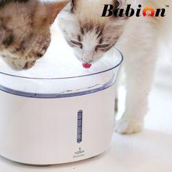 바비온 반려동물 강아지 고양이 정수기 H2 급수기 물그릇