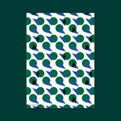 포스터 TAD POLE 50x70