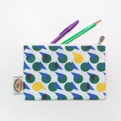 슬로우 빈티지 패턴파우치 TAD POLE POUCH 15x1520x14