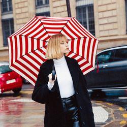 마릴린 3단 자동 우산