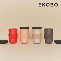 [에코보] 리유저블 테이크어웨이 컵(500ml) 4color
