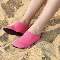 핑크돼지 남녀공용 아쿠아슈즈 해변 워터파크 물놀이