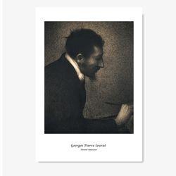 조르주 피에르 쇠라 명화 인테리어 아트 포스터 9종 (A3사이즈)