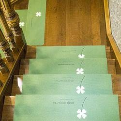 미끄럼방지 야광 논슬립 계단매트 55 x 22cm