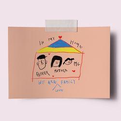 [drawingpaper] A3 포스터 - home