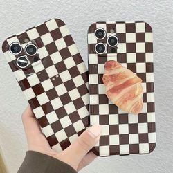 아이폰 12 11 미니 pro max se2 디저트 그립톡 케이스