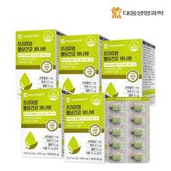 대웅생명과학 혈당건강 바나바 추출물 60정 5박스(10개월분)
