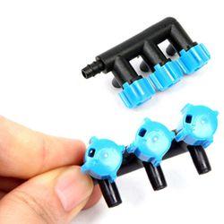 3구 에어조절벨브-수족관 기포기 연결부품