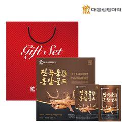 대웅생명과학 진녹용홍삼골드 30포 1박스(쇼핑백포함)
