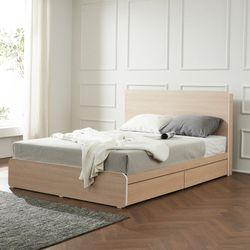 트리빔하우스 에리스 럭셔리 라텍스탑 서랍형 침대 QTB21F107