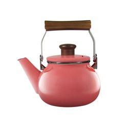 코카코 벨로 법랑주전자 1.4L 핑크 인덕션기능 커피 티주전자