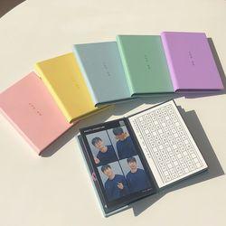 로그먼트 인생네컷 앨범 우리의 계절 3color