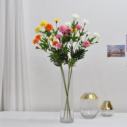 금잔화 가지- 조화꽃 인테리어소품 화분장식