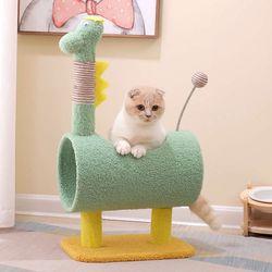 그린디노 캣타워 고양이용품 숨숨집 하우스