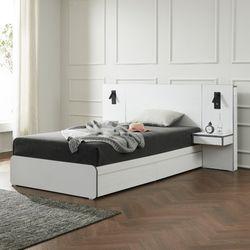 에리스 독립봉합 서랍형 침대 슈퍼싱글 협탁1EA TB21F116
