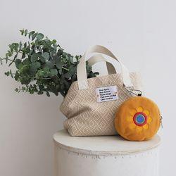 Summer tote bag (썸머 토트 백) beige